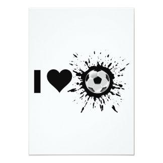 Explosive I Love Soccer Card