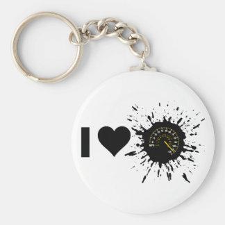 Explosive I Love Speed 1 Keychain