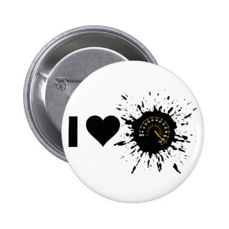 Explosive I Love Speed 1 Pinback Button