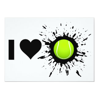 Explosive I Love Tennis Card