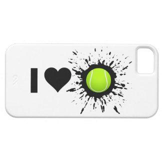 Explosive I Love Tennis iPhone 5 Case