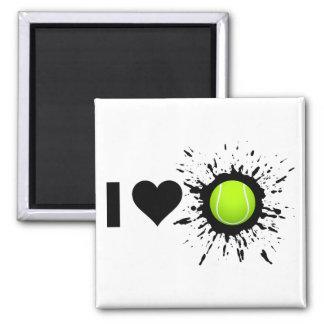 Explosive I Love Tennis Magnet