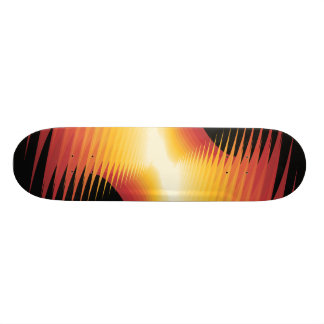 Explosive Lines: Custom Skateboard