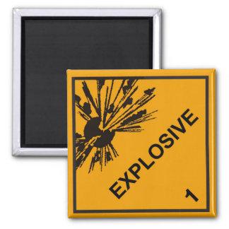 Explosive Magnet