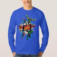 Explosive Marvel Comics Heroes T-Shirt