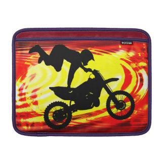 Explosive Motocross Jump MacBook Air Sleeve