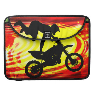 Explosive Motocross Jump MacBook Pro Sleeve