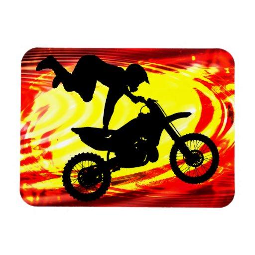 Explosive Motocross Jump Magnet