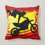 Explosive Motocross Jump Pillows