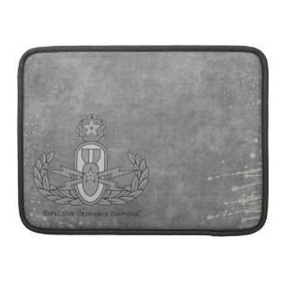 Explosive Ordnance Disposal Cover   grey Sleeves For MacBook Pro
