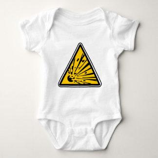 Explosive Risk Hazard Baby Bodysuit