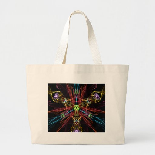 Explosive Star Canvas Bag