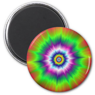 Explosive Tie-Dye Magnet Magnets