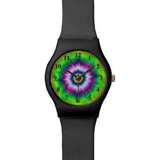 Explosive Tie-Dye Watch