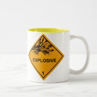 Explosive Two-Tone Coffee Mug