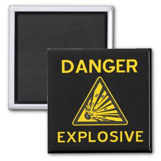 Explosive Warning Magnet