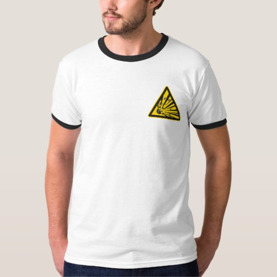 Explosive Warning T-Shirt
