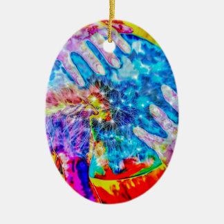 Explosively Ceramic Ornament