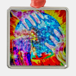 Explosively Metal Ornament