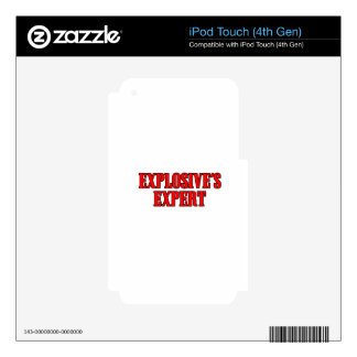 Explosive's Expert iPod Touch 4G Skins