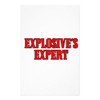 Explosive's Expert Stationery