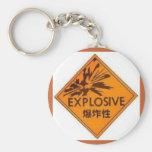Explosivo Llavero