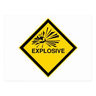 Explosivo Postales