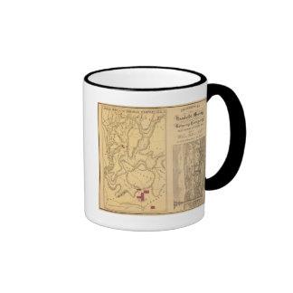Explotación minera y referencia Co de Humboldt Tazas De Café