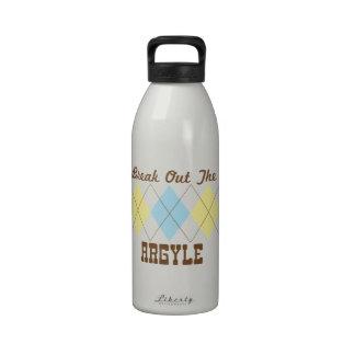 Explote el Argyle Botellas De Beber