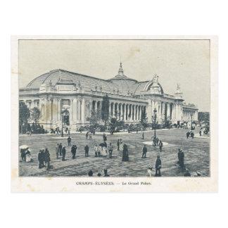 Expo 1900, campeones Elysees Palais magnífico de P Tarjeta Postal