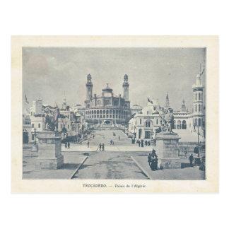 Expo 1900, d'Algerie de París de Trocadero Palais Postal