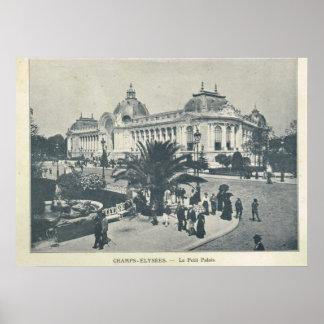 Expo 1900 de París, campeones Elysees y le Grand Póster