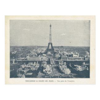Expo 1900 de París, Trocadero y Champ de Mars Tarjetas Postales