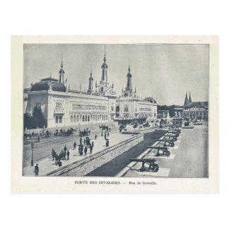 Expo 1900, DES Invalides de París de Porte Postal