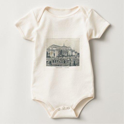 Expo 1900, escaparate de Francia, París del mundo Body Para Bebé