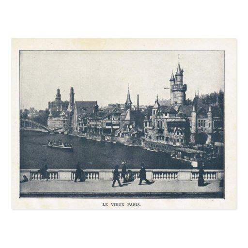 Expo 1900, La Vieux París de París Postal