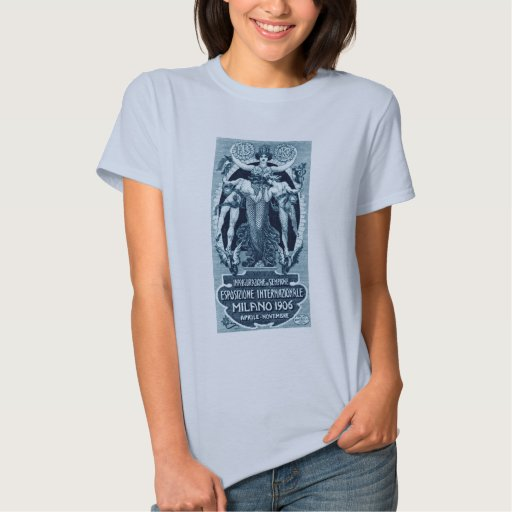 Expo 1906 del International de Milano Tee Shirt