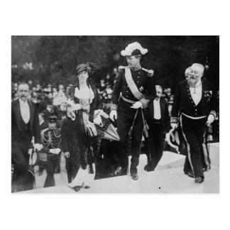 Expo 1913 de rey Albert y de la reina Elizabeth Tarjetas Postales