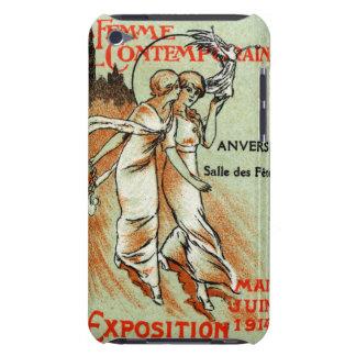 Expo 1914 para la mujer moderna iPod touch Case-Mate cárcasa