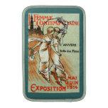 Expo 1914 para la mujer moderna fundas para macbook air