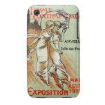 Expo 1914 para la mujer moderna iPhone 3 protector