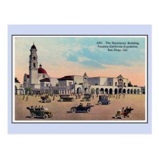 Expo 1915 de Panamá California del vintage San Die Tarjetas Postales