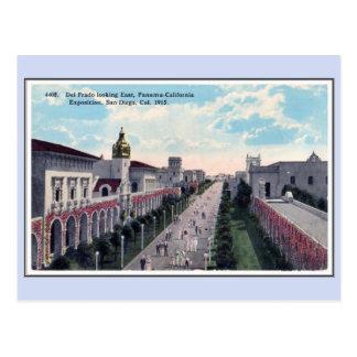 Expo 1915 de Panamá California del vintage San Postal