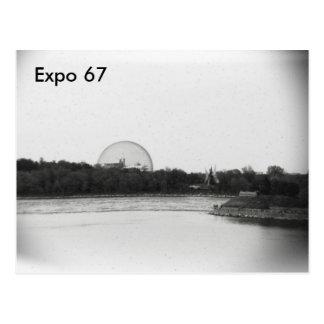 Expo 67 Postcard