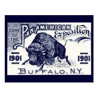 Expo Cacerola-Americana 1901 Tarjetas Postales