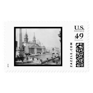 Expo colombina de los mundos en 1893 sellos