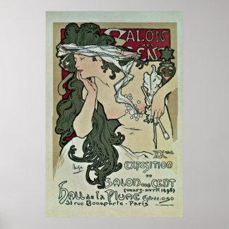 Expo del arte del centavo del DES del salón de Muc Posters