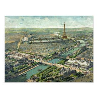 Expo del mundo París 1900 Francia Cojinete