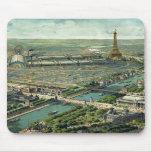 Expo del mundo París 1900 Francia Tapete De Ratones