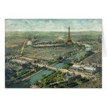 Expo del mundo París 1900 Francia Tarjeta